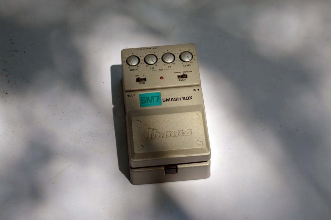 Ibanez SM7 Smash Box Pedal