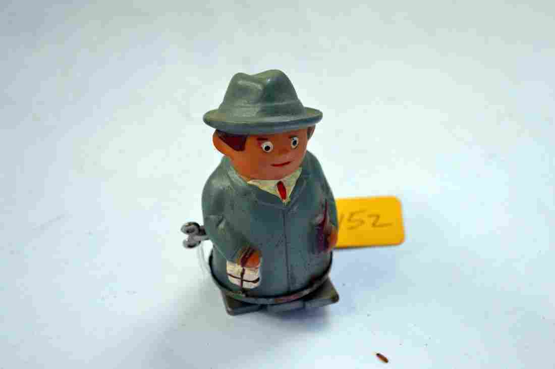 Vintage Wind Up Walking Doctor