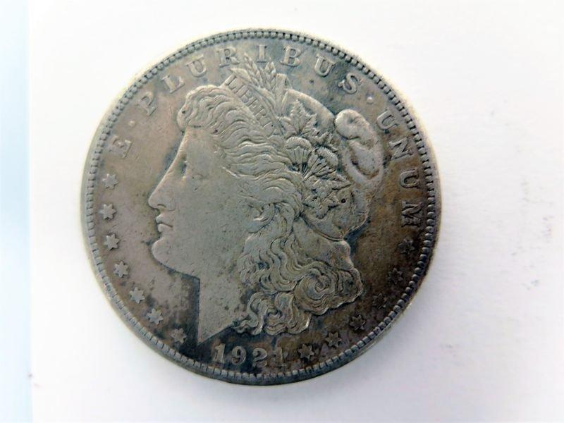 1921-S Silver Morgan Dollar
