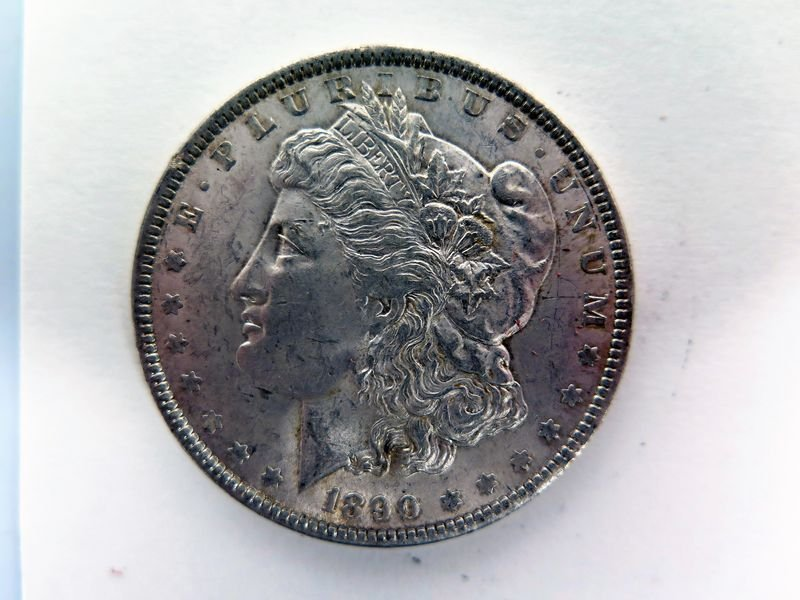1890-P Silver Morgan Dollar