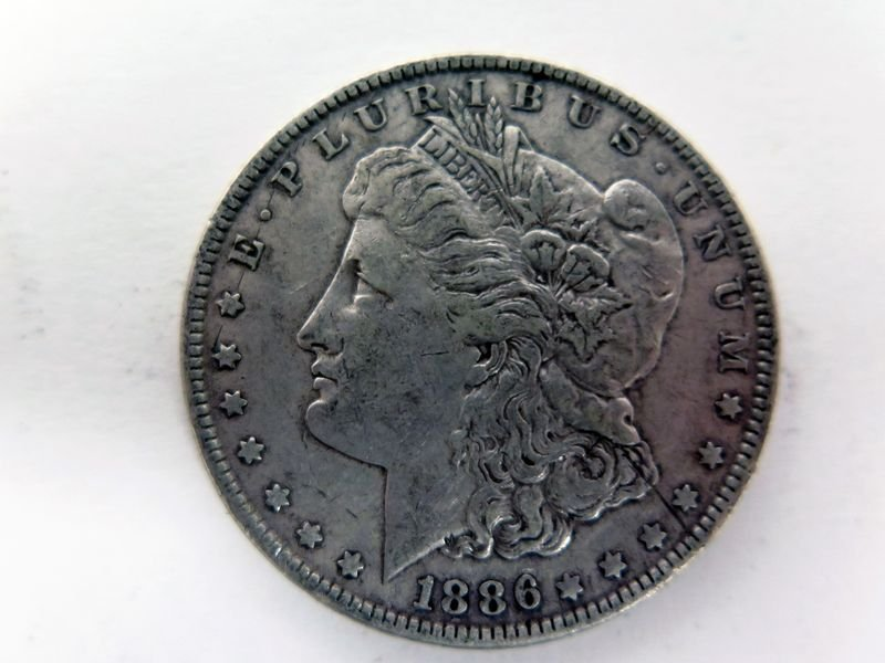 1886-P Silver Morgan Dollar