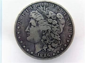 1886-O Silver Morgan Dollar