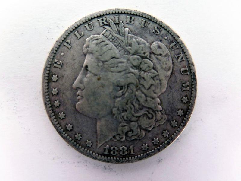 1881-O Silver Morgan Dollar