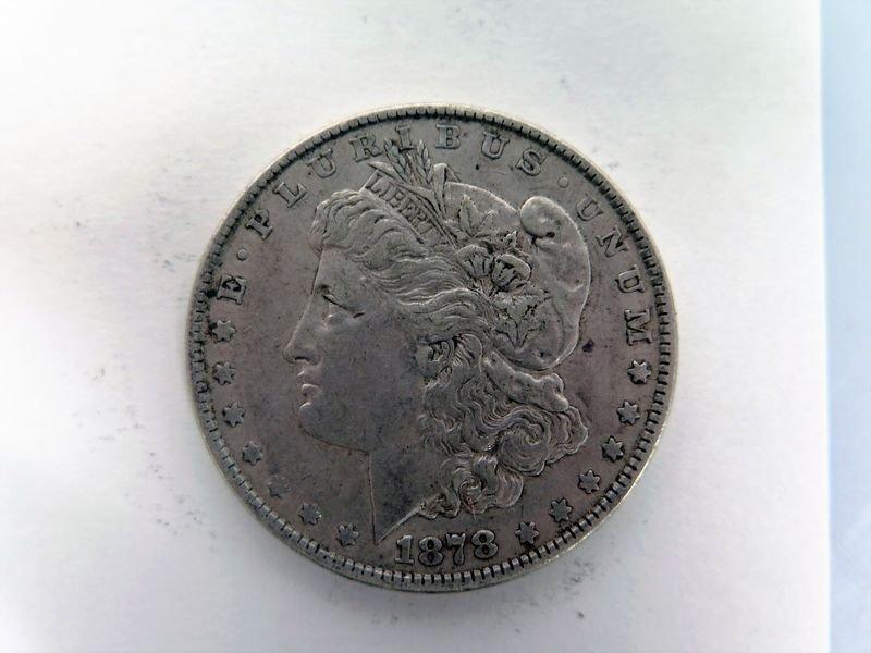 1878-P Silver Morgan Dollar