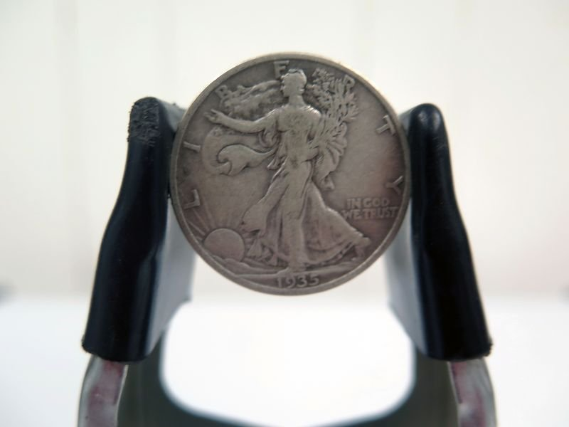 1935-S Silver Walking Liberty Half Dollar