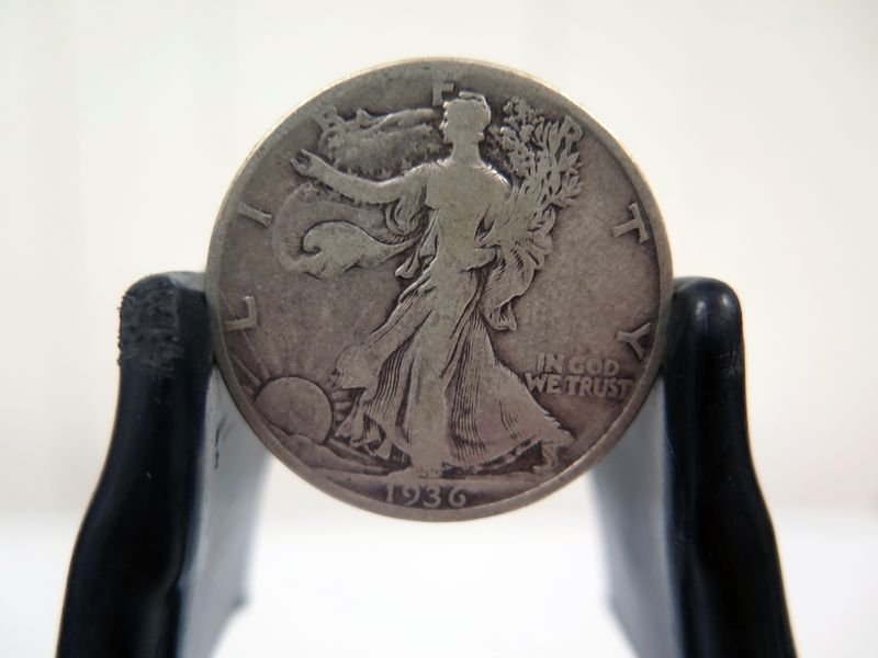 1936-P Silver Walking Liberty Half Dollar