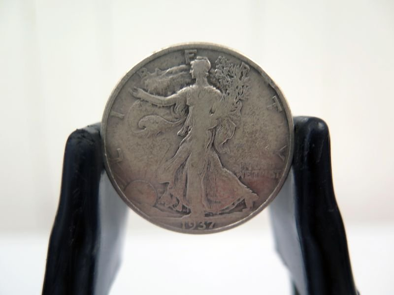 1937-P Silver Walking Liberty Half Dollar