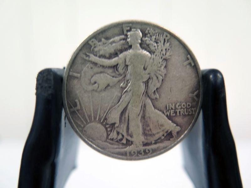 1939-P Silver Walking Liberty Half Dollar