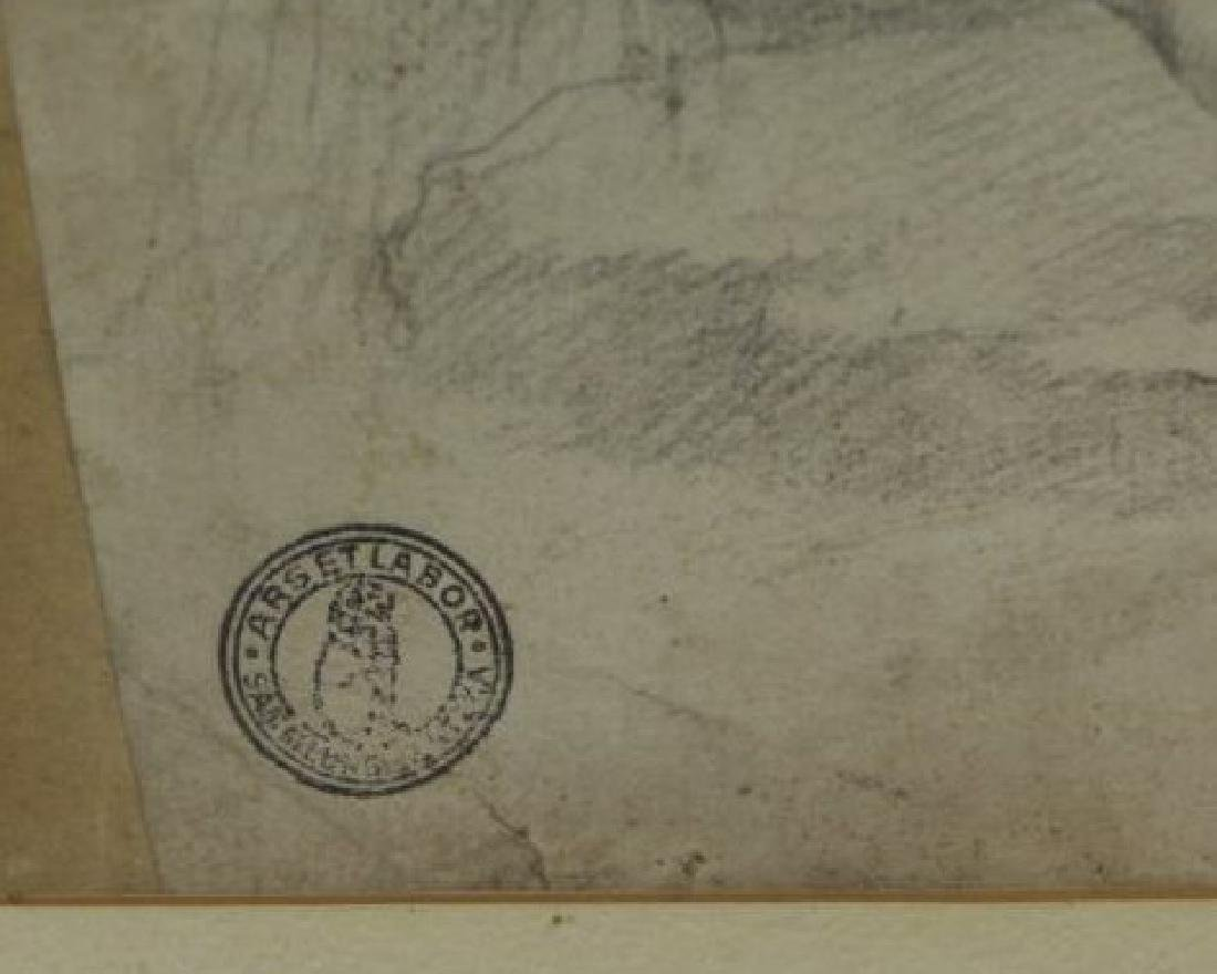 Lot of Three 18th/19th C. Drawings. - 3