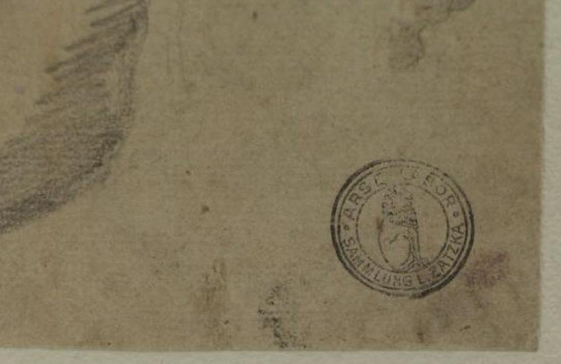 Lot of Three 18th/19th C. Drawings. - 7