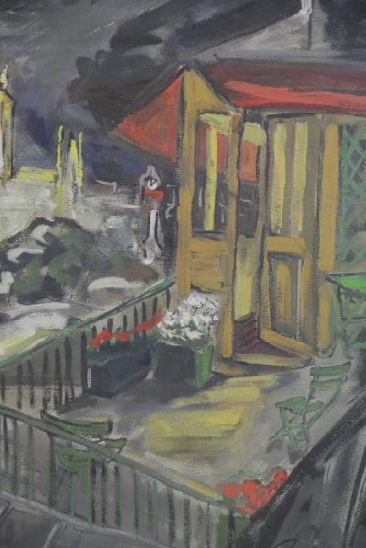 BEMELMANS, Ludwig. Gouache on Paper. View of Paris - 4