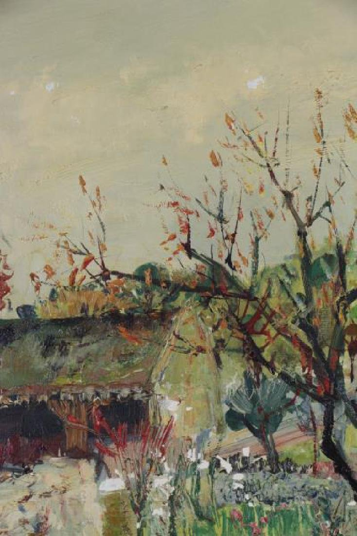 "ARDISSONE, Yolande. Oil on Canvas. ""Fillette dans - 4"
