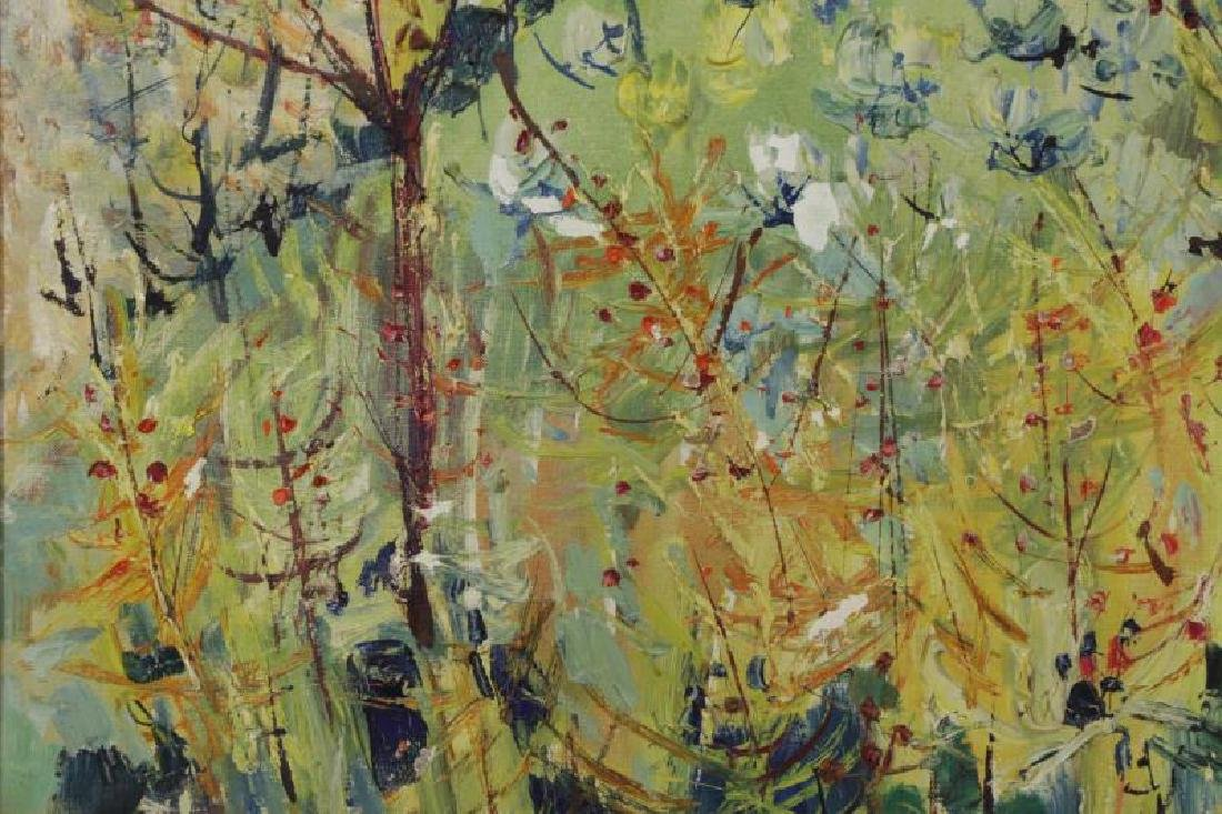 "ARDISSONE, Yolande. Oil on Canvas. ""Fillette dans - 5"