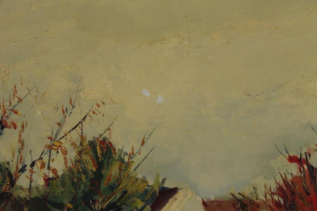 "ARDISSONE, Yolande. Oil on Canvas. ""Fillette dans - 6"