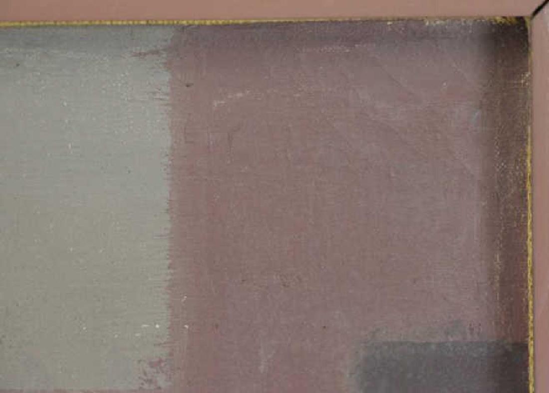 """VEZCALI, Luis. Oil on Canvas """"Nina Con Gato"""" 1961. - 6"""
