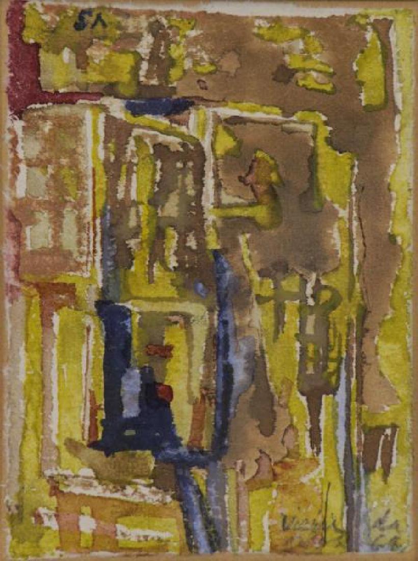 VIERIA DA SILVA, Maria Helena. Untitled Watercolor