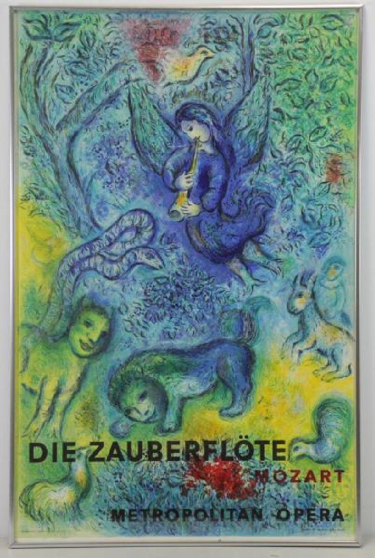 CHAGALL, Marc. Magic Flute Lithograph in Colors by - 2