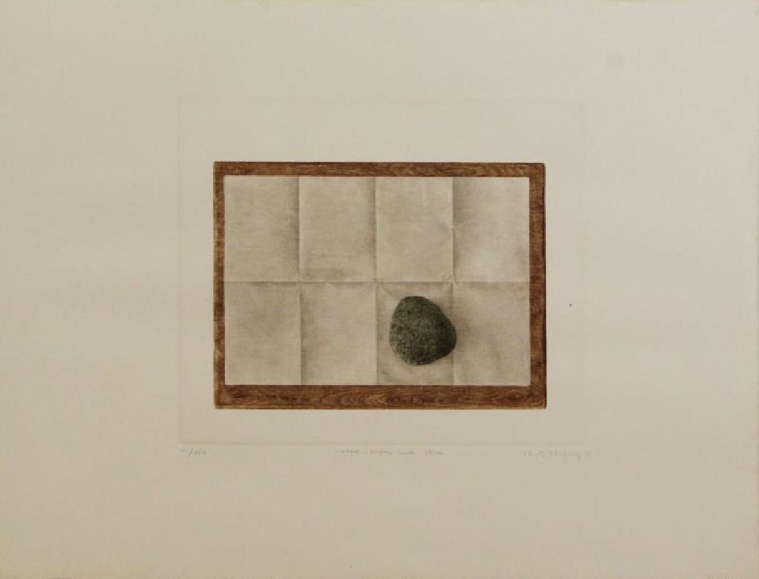HWANG, K.B. Two Mezzotints. - 5