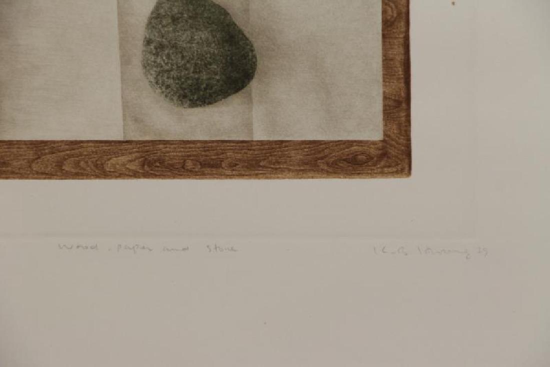 HWANG, K.B. Two Mezzotints. - 6