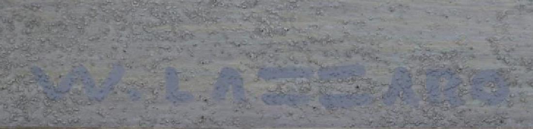 LAZZARO, Walter. Oil on Board. The White Boat, - 4