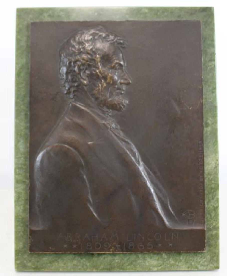 Victor David Brenner, Signed Abraham Lincoln