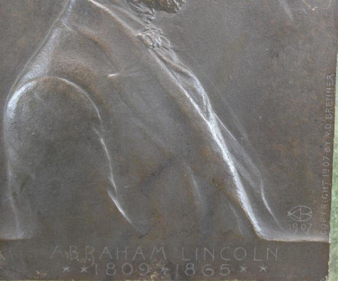 Victor David Brenner, Signed Abraham Lincoln - 3