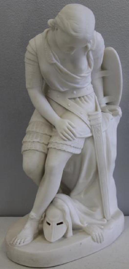 Large Grouping of Parian Porcelain Sculptures, - 3