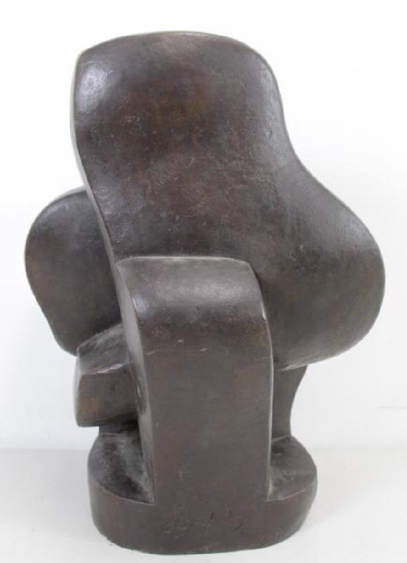 LIPCHITZ. After Signed and Dated Bronze Sculpture. - 3