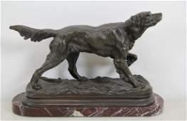 MOIGNIEZ, Jules, Signed Bronze Sculpture of a