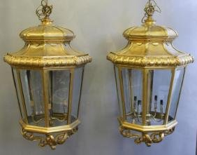 Magnificent Pair of Large Antique Dore Bronze