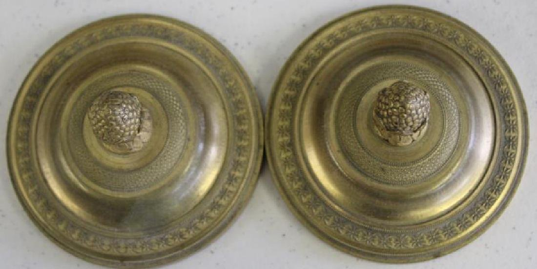 Fine Quality Pair of Dore Bronze and Patinated - 4