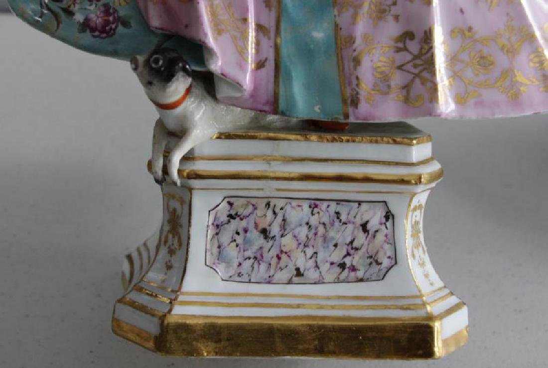 Grouping of Porcelains To Inc Meissen. - 7