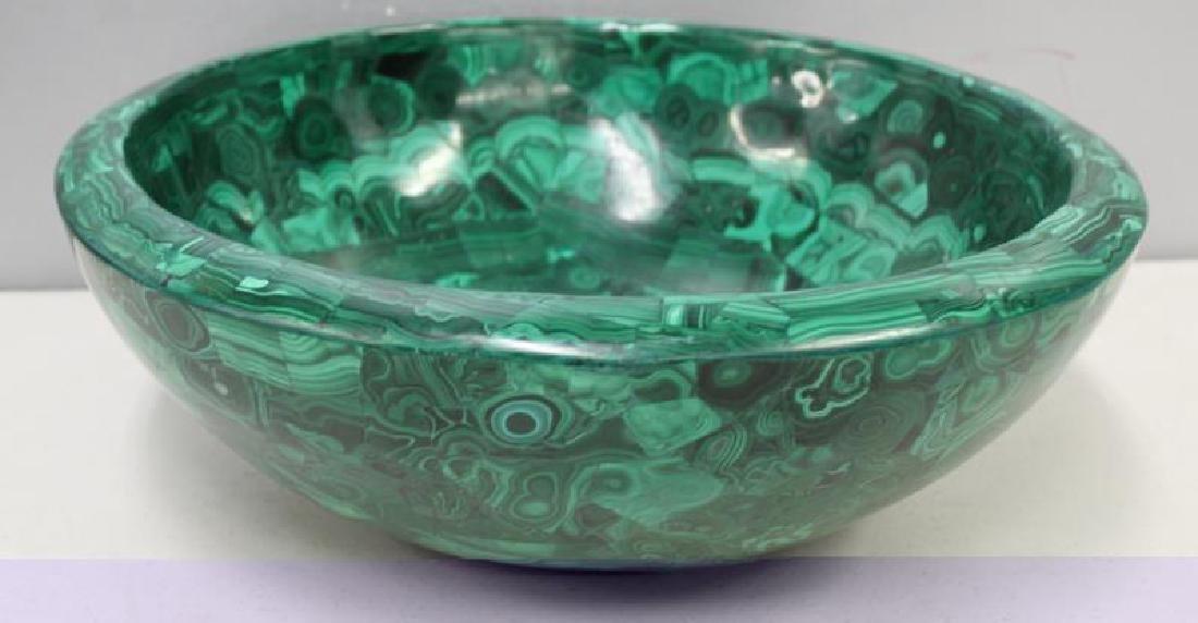 Large Quality Malachite Bowl as Sink. - 2