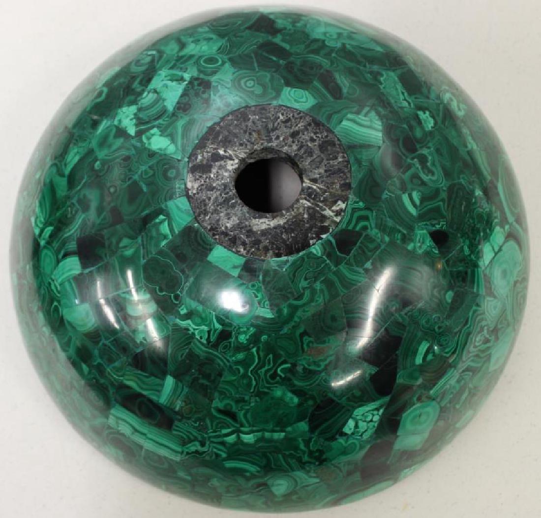Large Quality Malachite Bowl as Sink. - 3