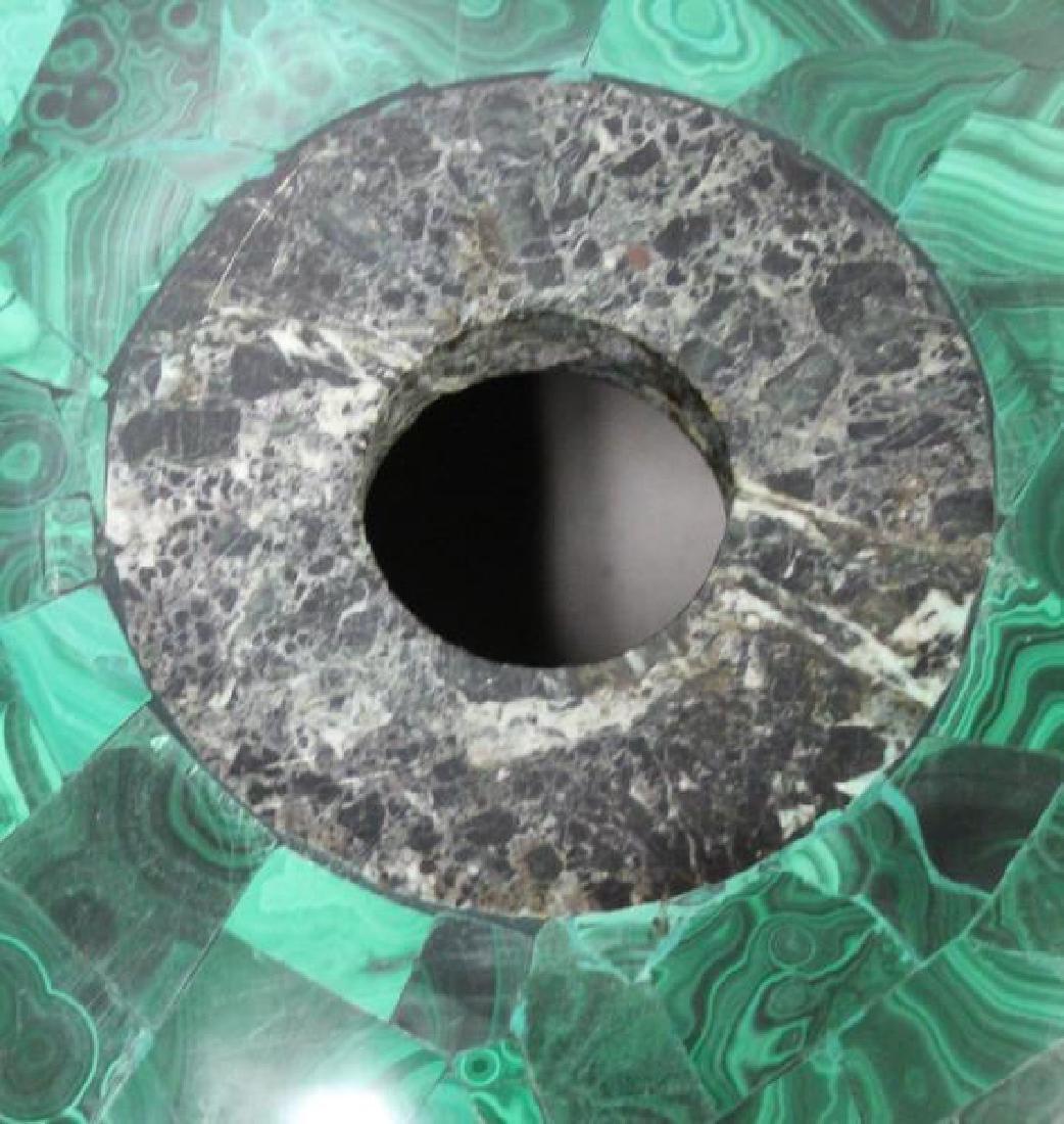 Large Quality Malachite Bowl as Sink. - 4