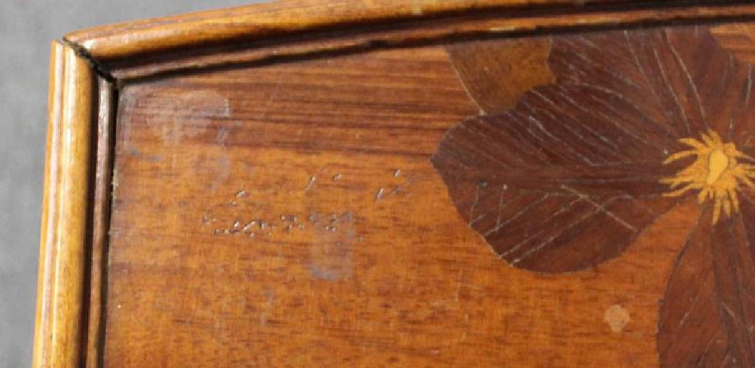 Art Nouveau Inlaid Table in the Manner of - 4