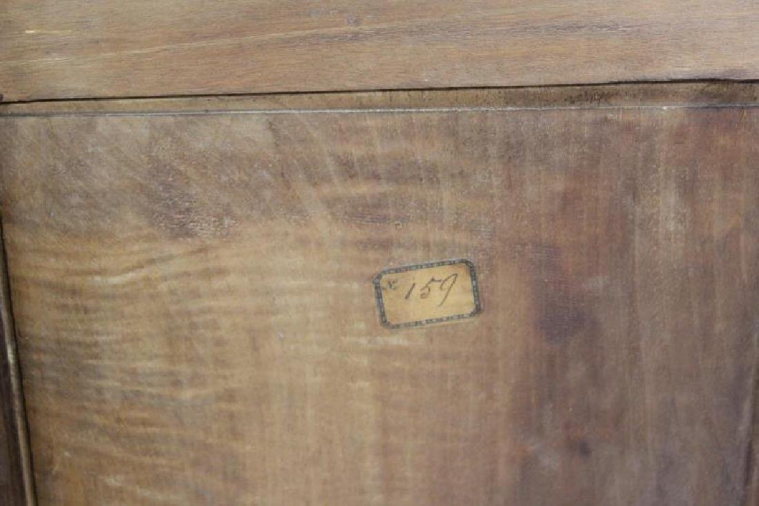 Art Nouveau Maple and Mahogany Cabinet. - 8