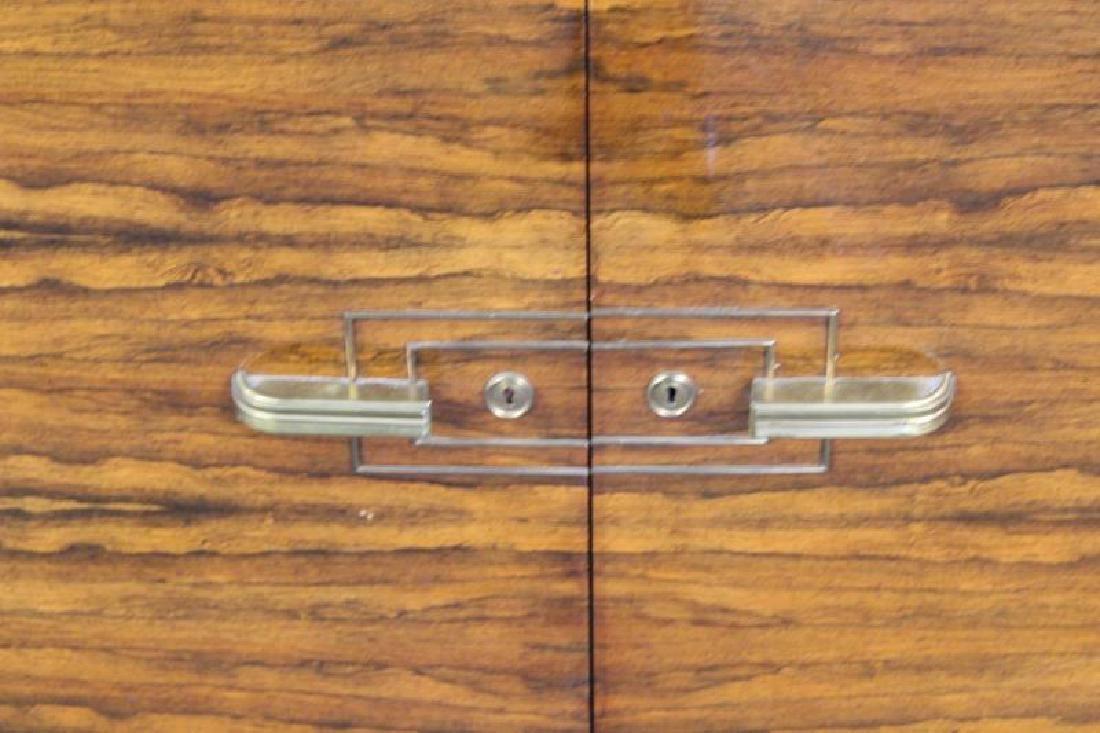 Burl  Walnut  Art  Deco Marble Insert  Sideboard - 3
