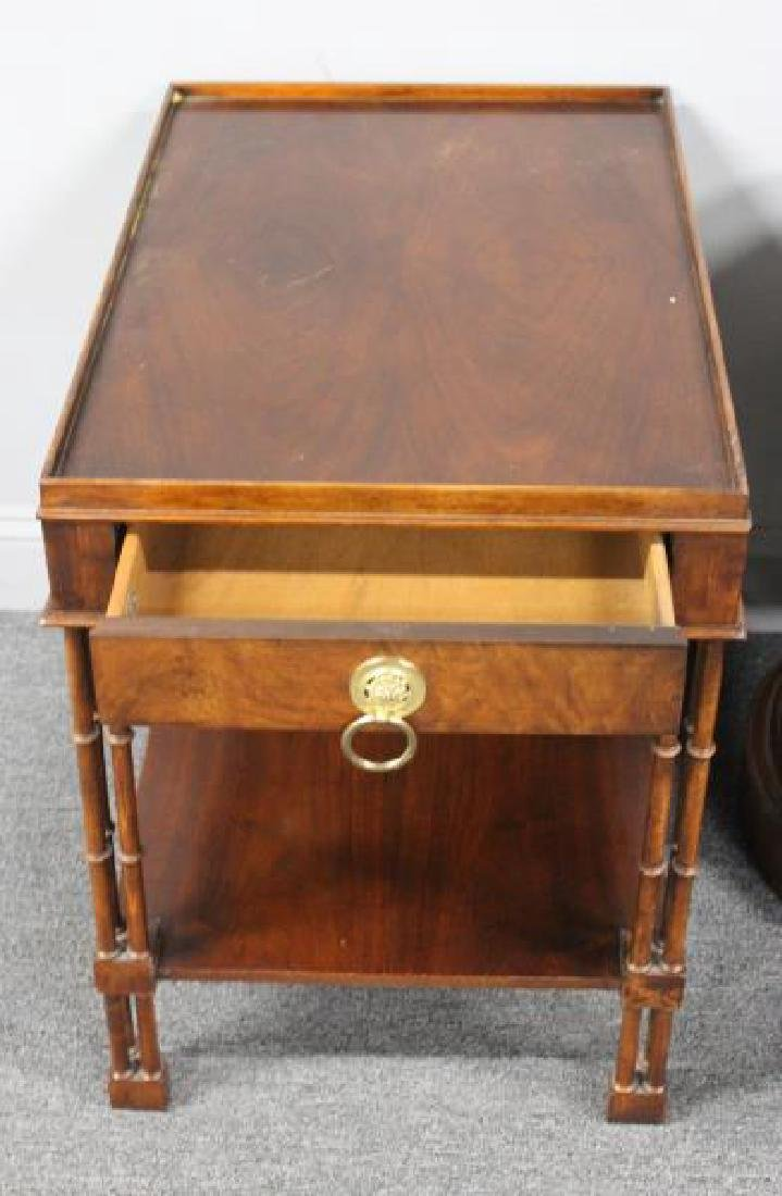 BAKER, 3 Signed End Tables To Inc  a Pair & - 3