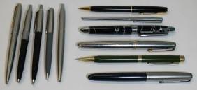 Grouping of Vintage Pens Including Parker.
