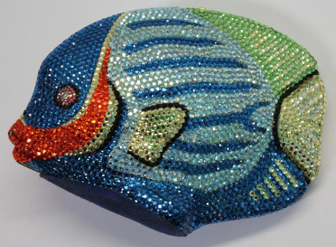 Kathrine Baumann Design Fish Aqua Minaudiere.