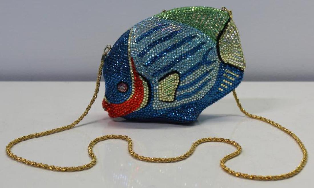 Kathrine Baumann Design Fish Aqua Minaudiere. - 2