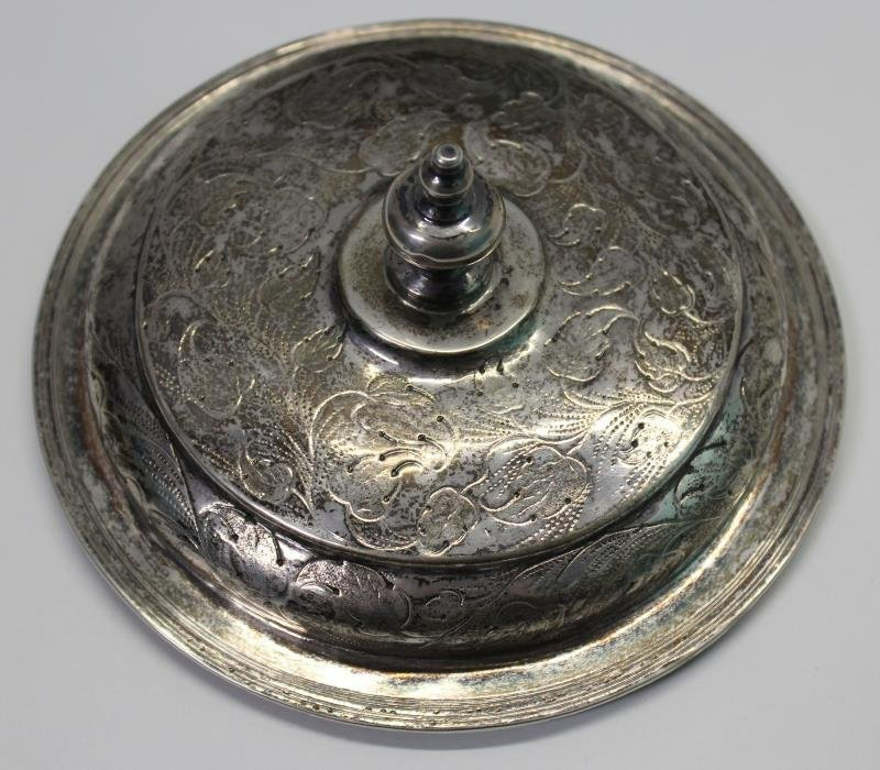 SILVER. William and Mary English Silver Caudle Cup - 3