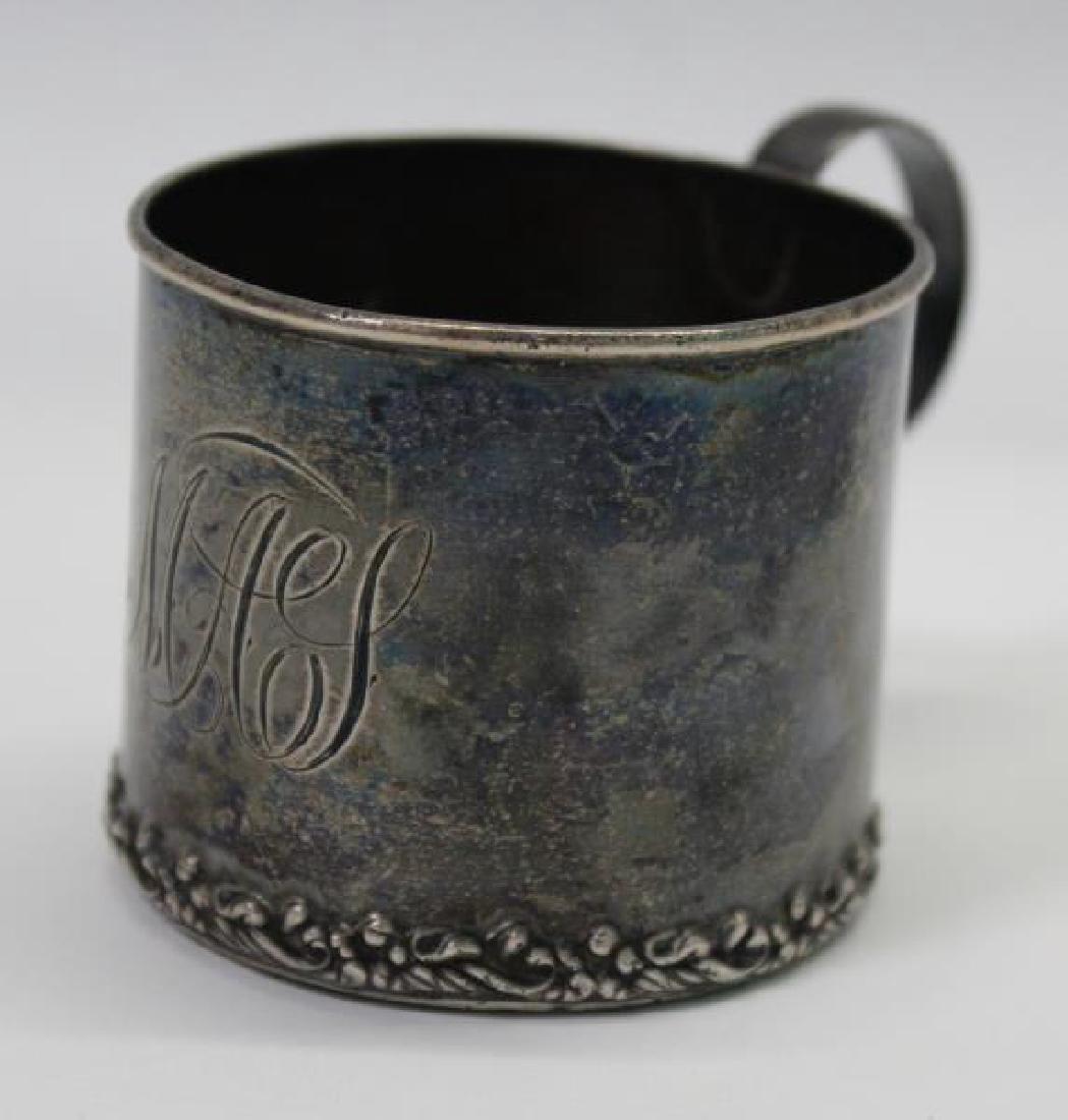 SILVER. George IV English Silver Teapot. - 7