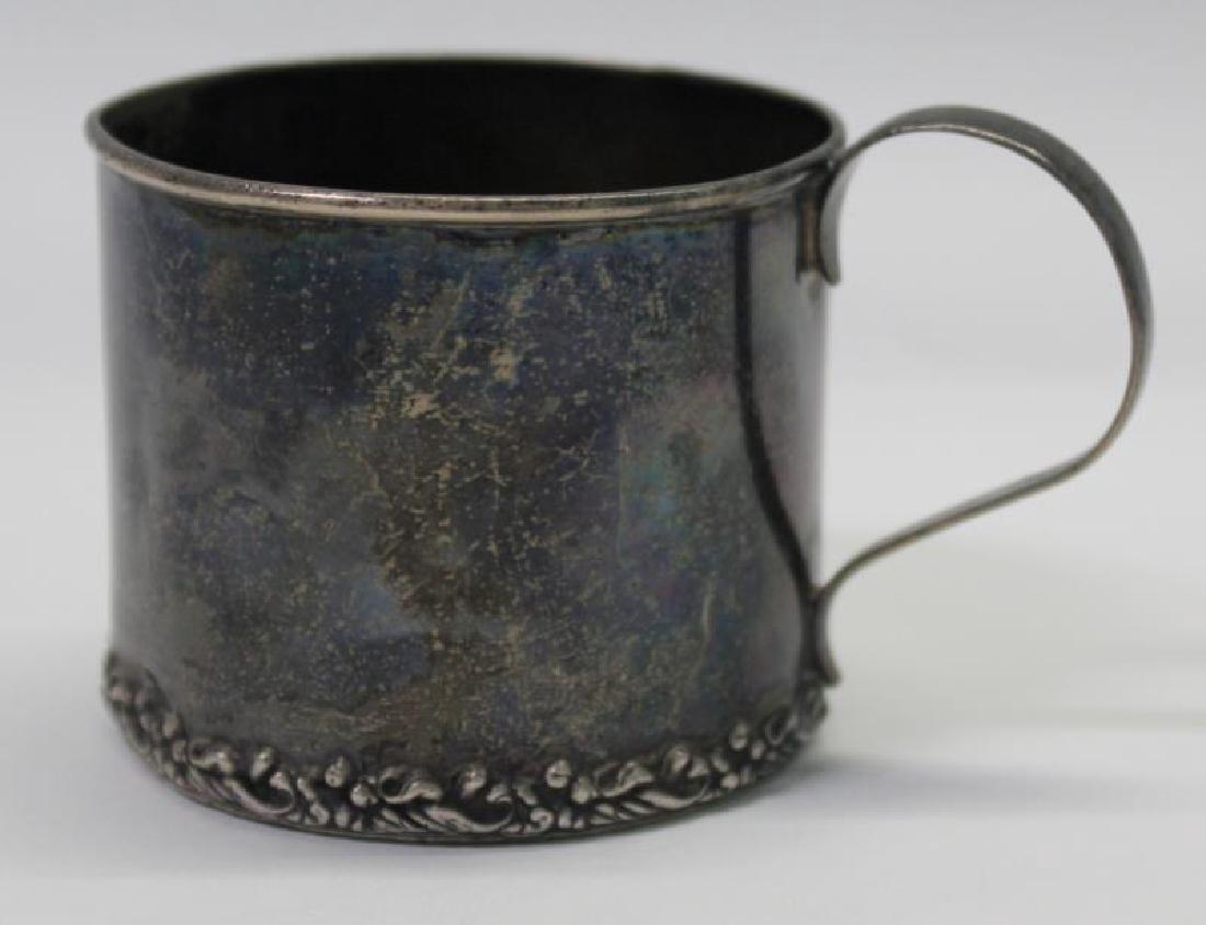 SILVER. George IV English Silver Teapot. - 8
