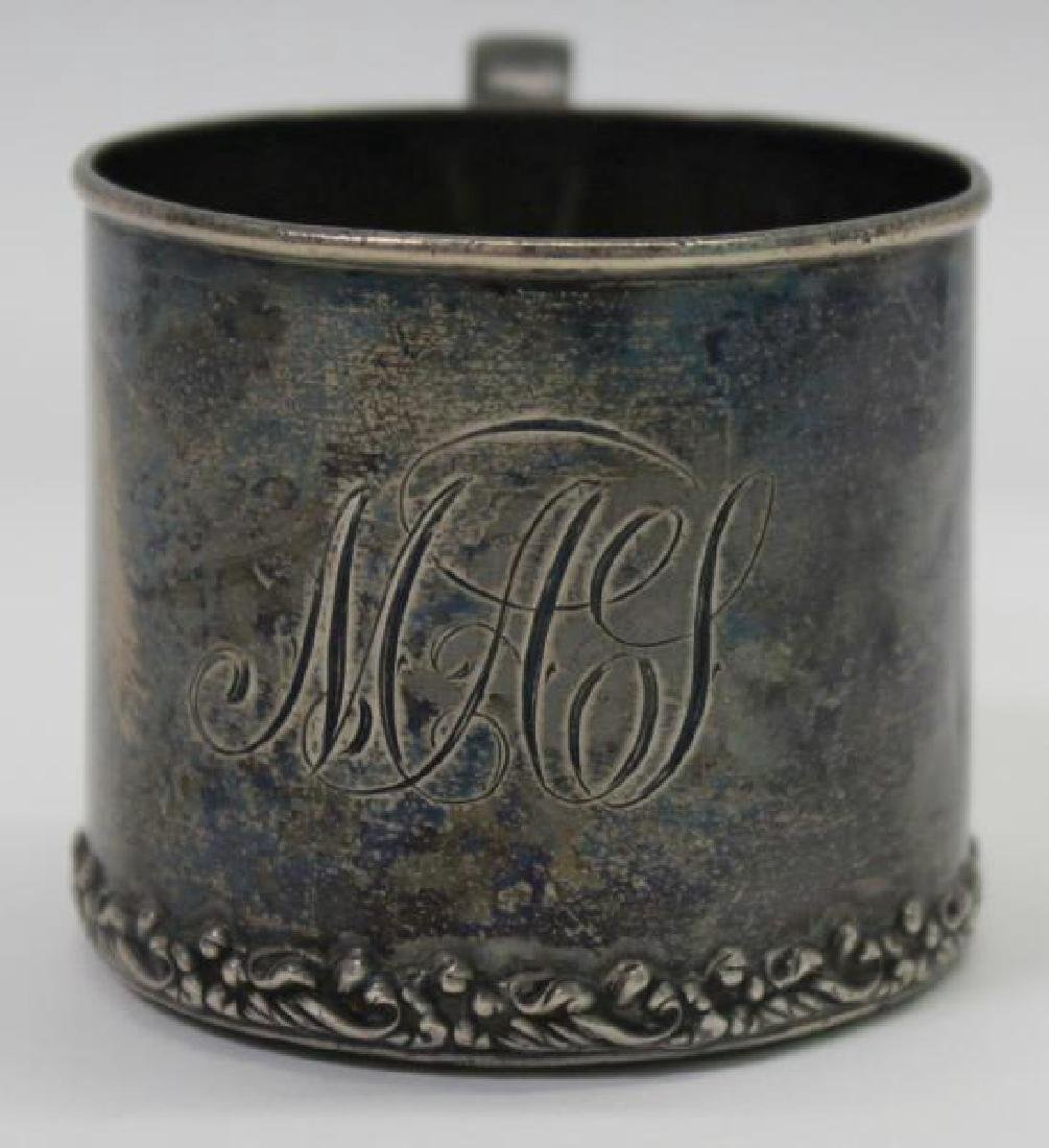 SILVER. George IV English Silver Teapot. - 9