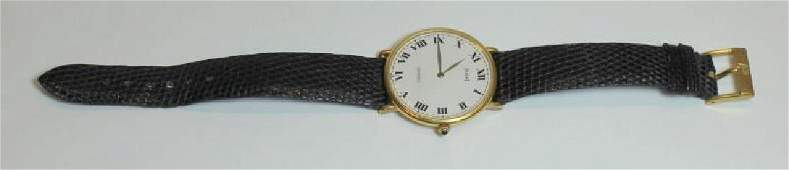 JEWELRY Piaget 18kt Gold Mens Wrist Watch