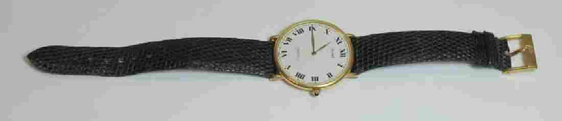 JEWELRY. Piaget 18kt Gold Men's Wrist Watch.