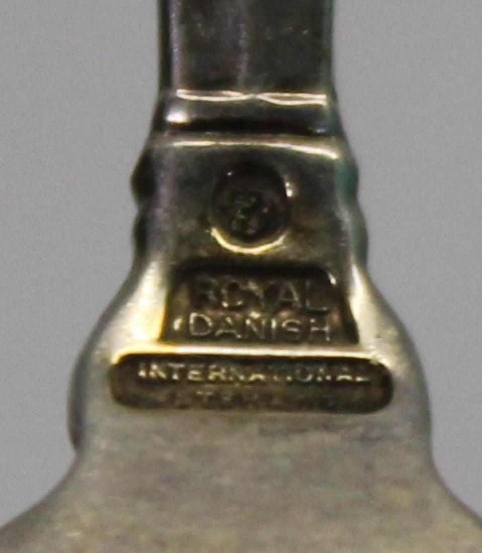 STERLING. International Royal Danish Flatware. - 4