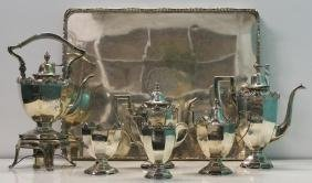 STERLING. Howard & Co. 6 Piece Tea Service with